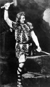 Siegfried smeedt het zwaard Notung - zijn geestelijk vader Wagner maakte de naam (weer) populair